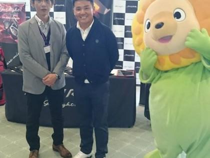 福崎東洋ゴルフ倶楽部にて姫路西はりま地場産業センター主催のアクティべーションカップに参加